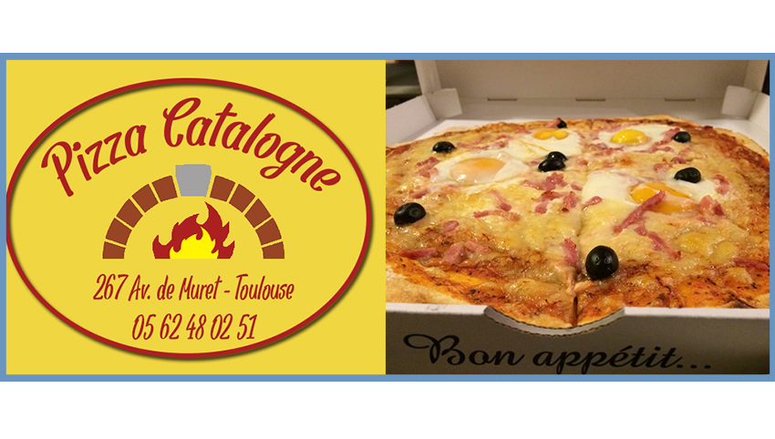 Sponsor 4L Trophy pizza catalogne Toulouse avenue de muret